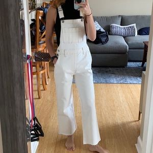 NWT A&F Wide-leg Overalls - Size XS